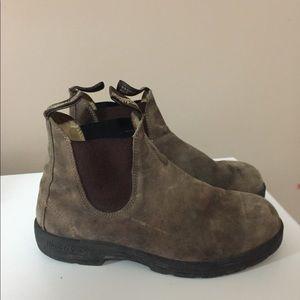 Blundstone rustic brown boots 10.5 original